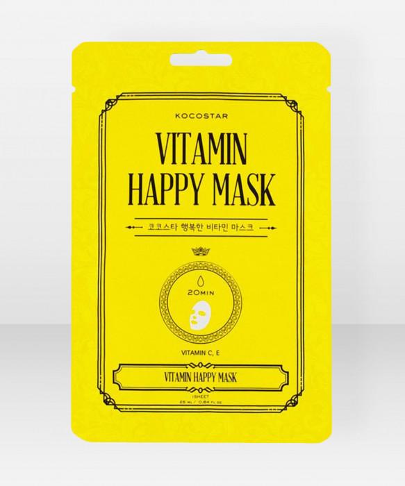 KOCOSTAR Vitamin Happy Mask kangasnaamio kasvonaamio
