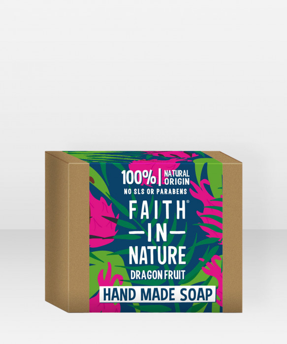 Faith in Nature Soap Dragon Fruit palasaippua