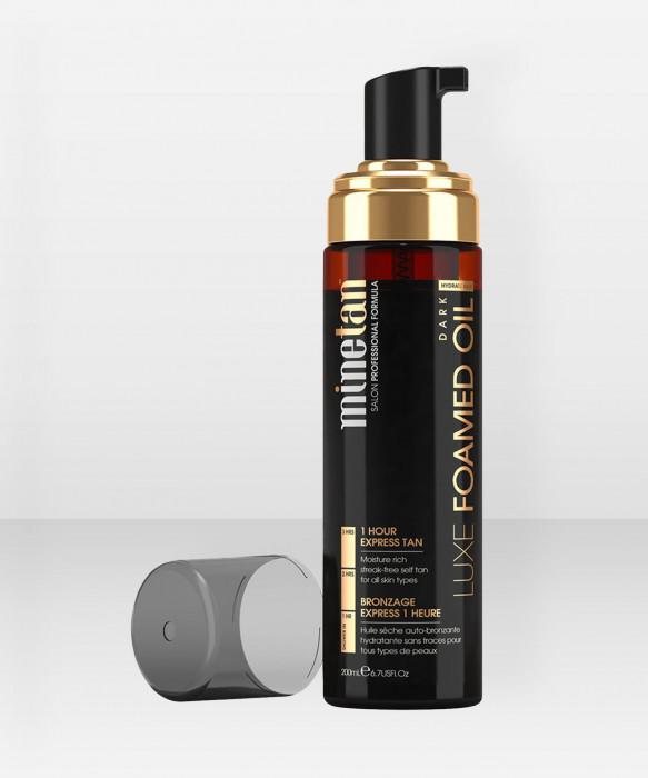 Minetan Luxe Foamed Oil  Itseruskettava vaahtoöljy 200ml
