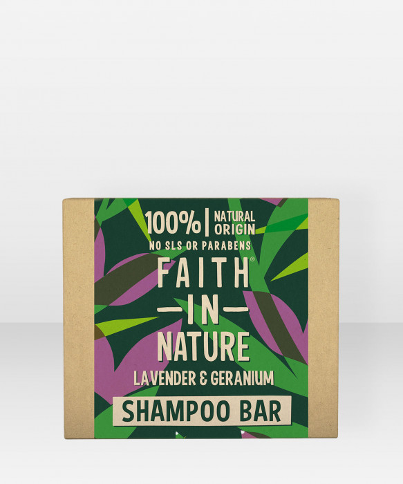 Faith in Nature Shampoo Bar Lavender & Geranium palashampoo shampoopala