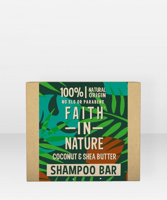 Faith in Nature Shampoo Bar Coconut & Shea Butter shampoopala palashampoo