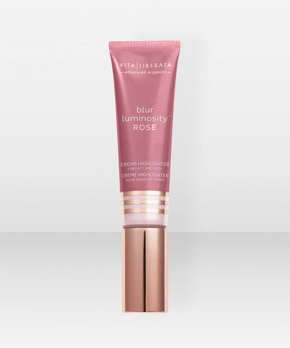 Vita Liberata Blur Luminosity Highlighter Rose 30ml korostusväri korostusvoide