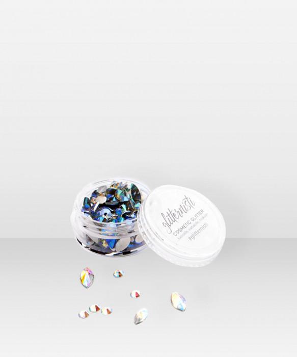Glitternisti Classic Mix Face Gems IRIDESCENT 10ml kasvotimantit