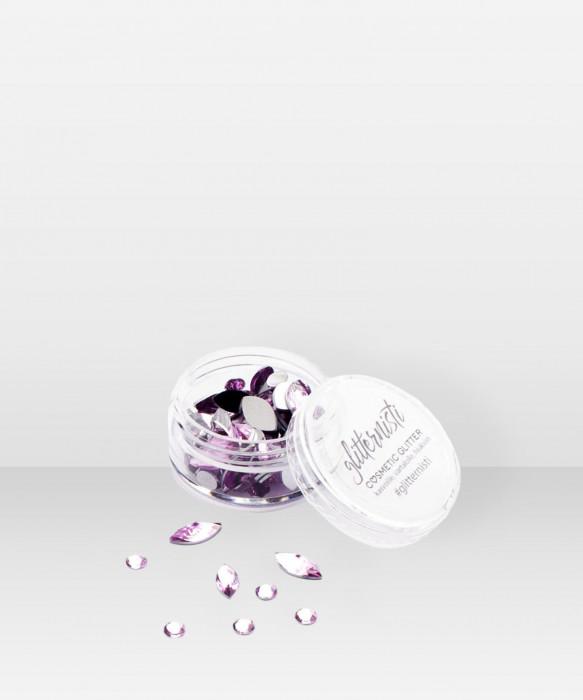 Glitternisti  Classic Mix Face Gems ROSE 10ml kasvotimantit