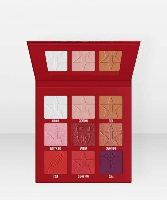 Jeffree Star Cosmetics Mini Blood Sugar Eyeshadow Palette luomiväripaletti luomiväri