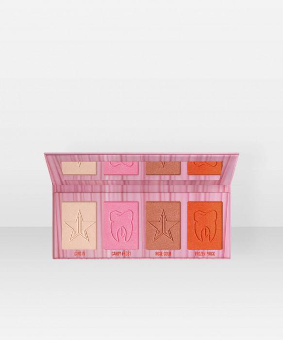 Jeffree Star Cosmetics Cavity Skin Frost Highlighter Palette korostusväri korostuspuuteri paletti