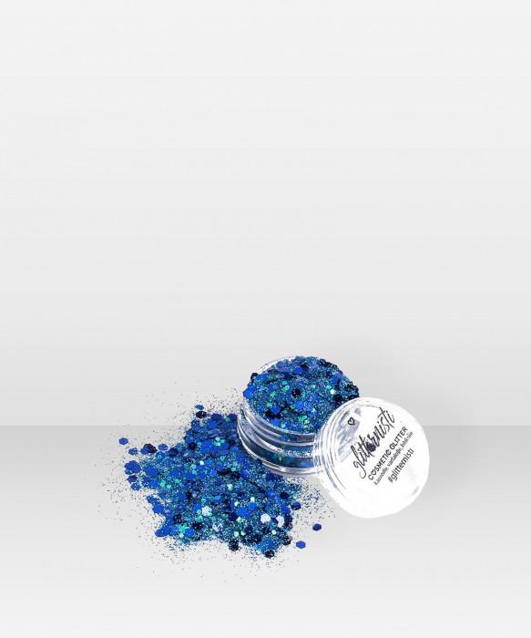 Glitternisti Blue Light 5ml kosmeettinen glitter