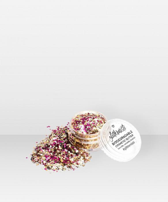 Glitternisti Eco Bisous 5ml Kosmeettinen glitter