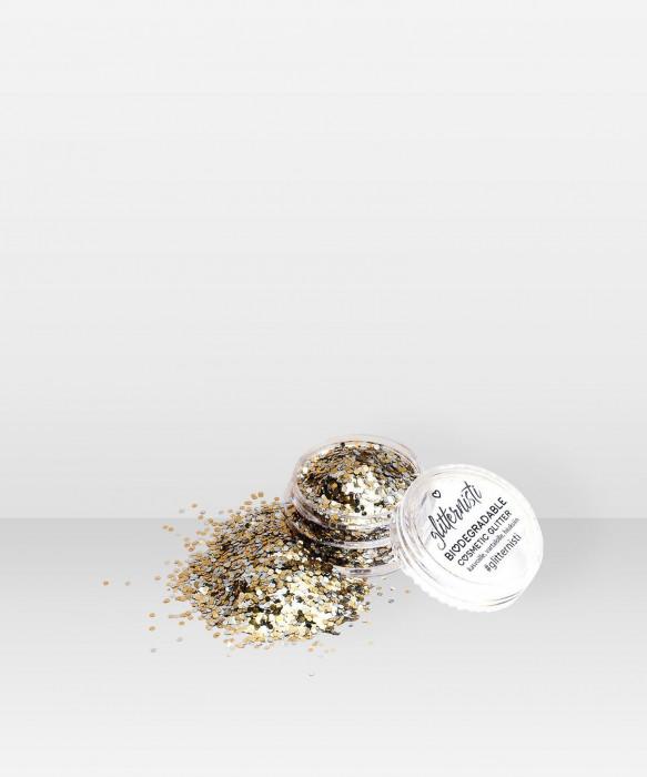 Glitternisti Eco Magic 5ml Kosmeettinen glitter kasvoille hiuksille vartalolle