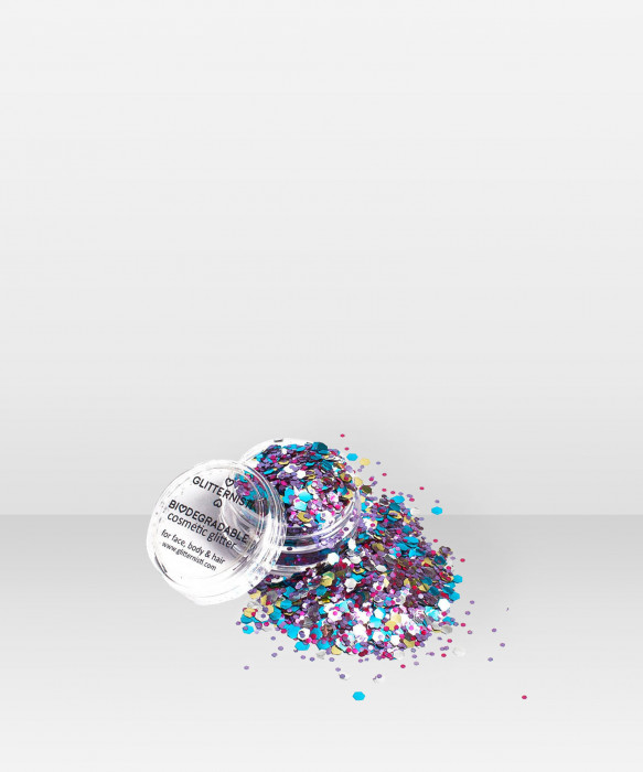 Glitternisti  Eco Universe 5ml kosmeettinen glitter