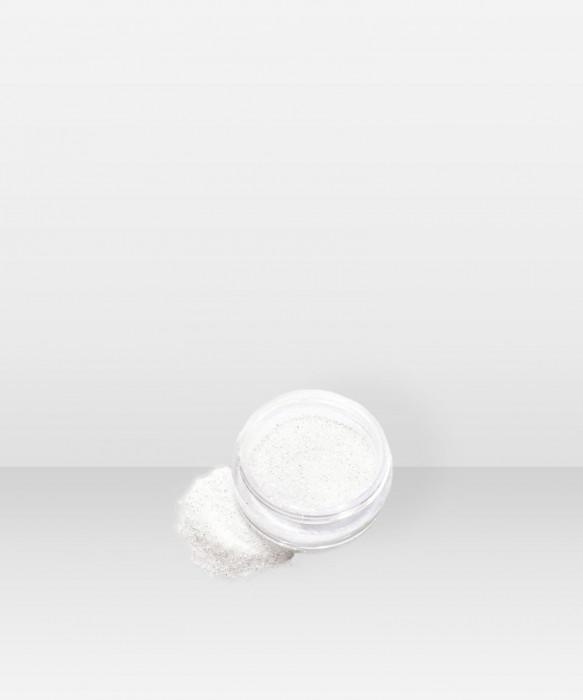 Glitternisti Only white 5ml Kosmeettinen glitter