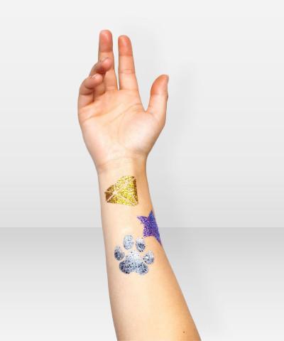 Glitternisti  Tattoo Stensil