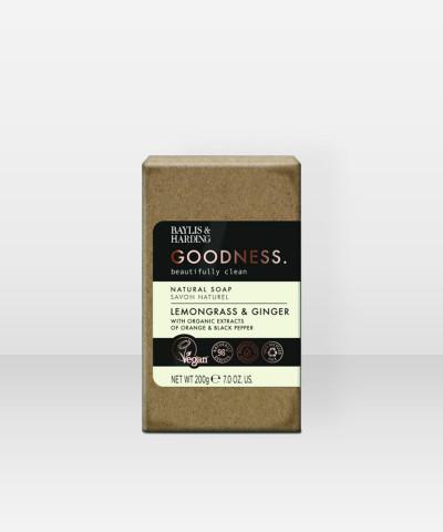 Baylis & Harding Goodness Lemongrass & Ginger Soap Bar 200g