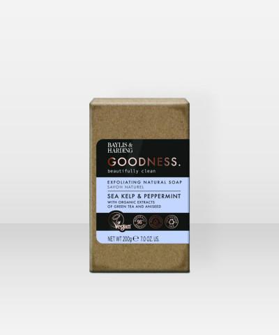Baylis & Harding Goodness Sea Kelp & Peppermint Soap Bar 200g