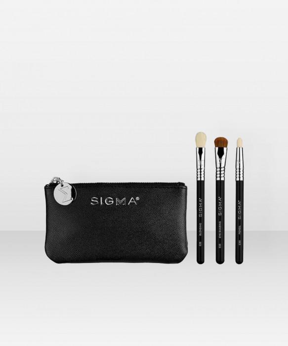 Sigma Beauty Glam 'N Go Mini Eye Brush Set sivellinsetti