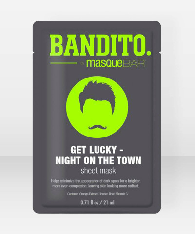 Bandito by Masque Bar Get Lucky – Night On The Town Sheet Mask