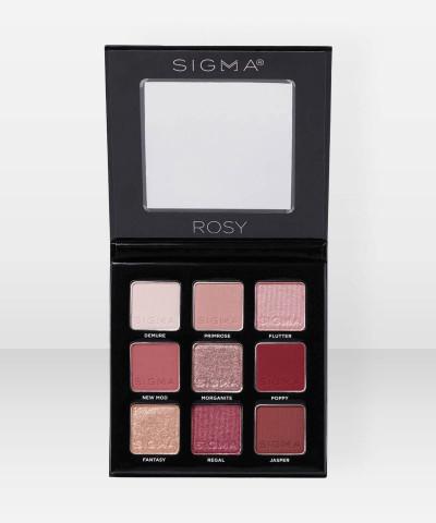 Sigma Beauty Rosy Eyeshadow Palette