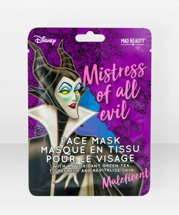 Mad Beauty Disney Villains Sheet Face Mask Maleficent pahatar kasvonaamio kangasnaamio