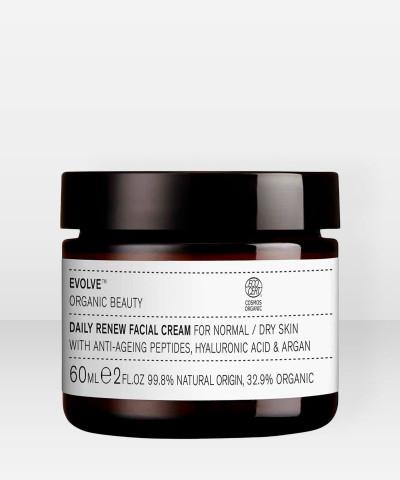 Evolve Organic Beauty Daily Renew Facial Cream Uudistava kasvovoide 60ml