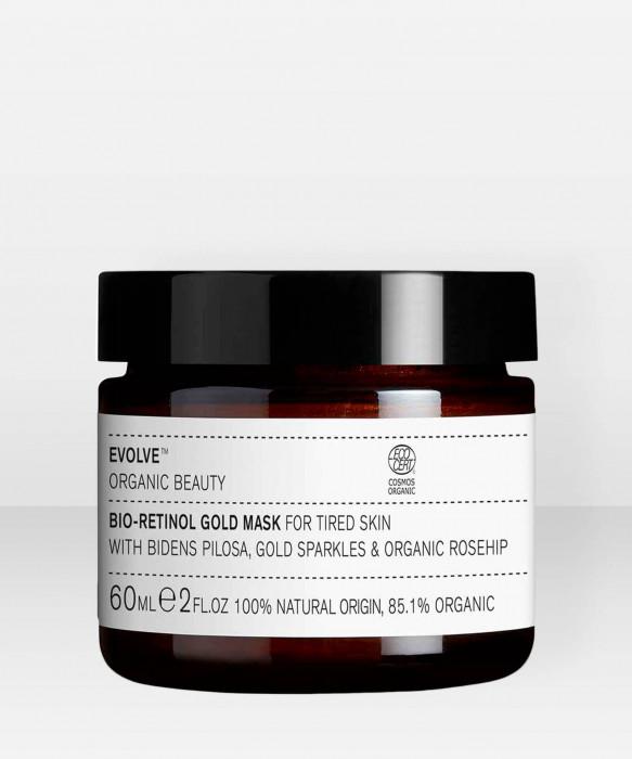 Evolve Organic Beauty Bio-Retinol Gold Mask Kasvonaamio 60ml