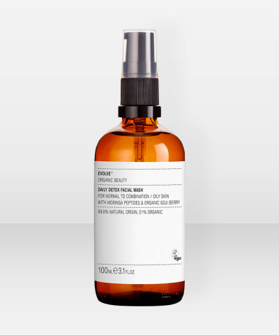 Evolve Organic Beauty Daily Detox Facial Wash Puhdistusgeeli 100m